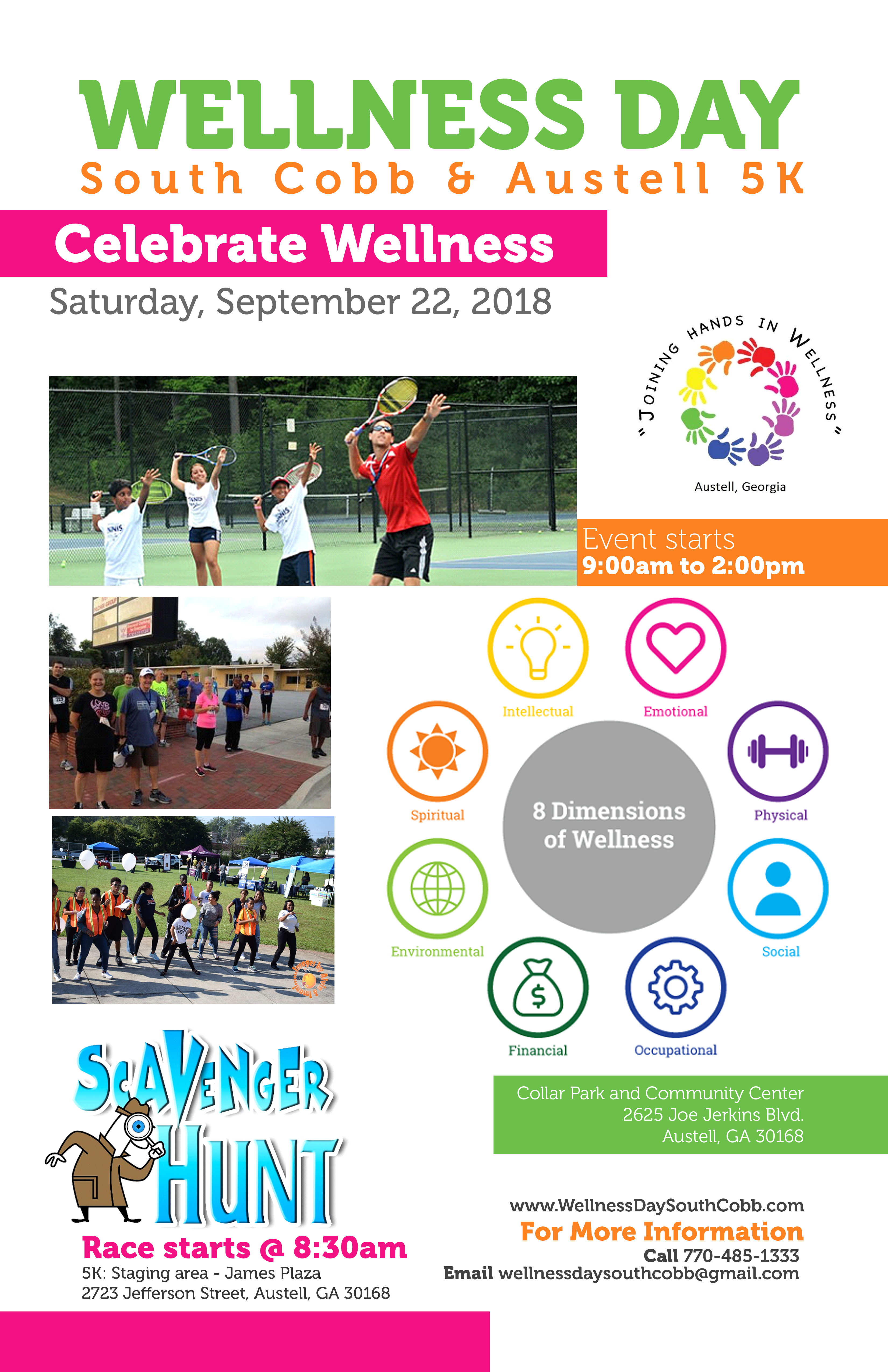 Summer Health and Education Festival - Baytown Events |Wellness Day Event Flyers